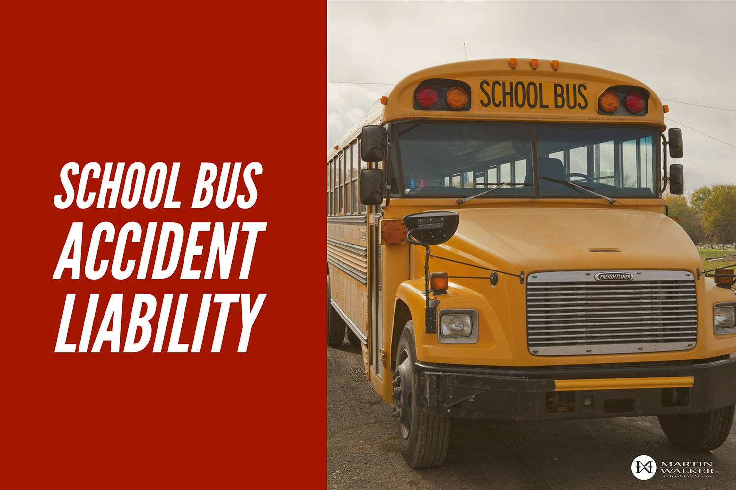 personal injury school bus