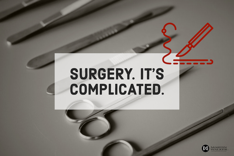 Surgery medical malpractice